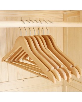 Handcrafted Heavy Duty Wooden Cloth Hangers